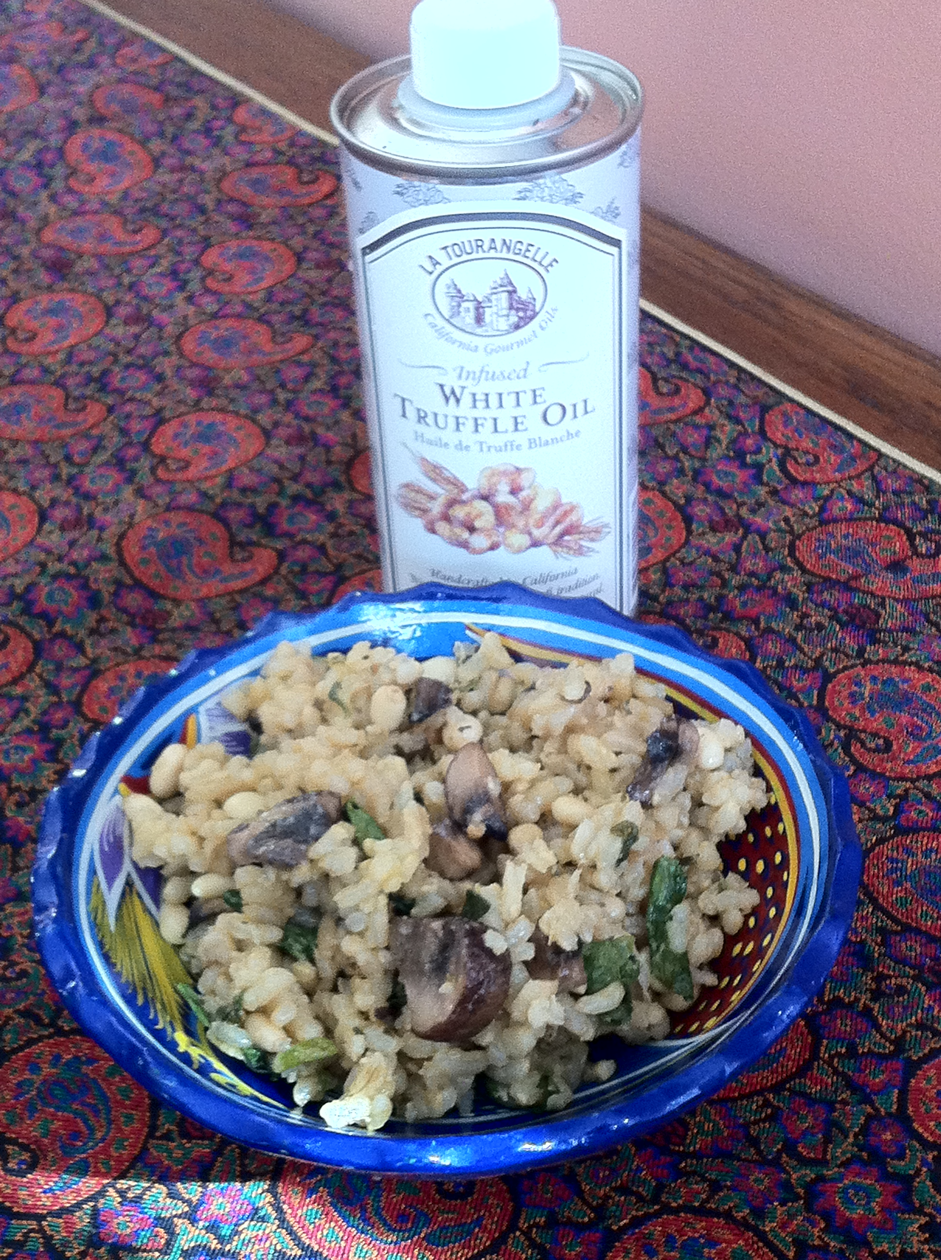 Mushroom Rice Pilaf with Pine Nuts and Thyme | The Cook Sisters
