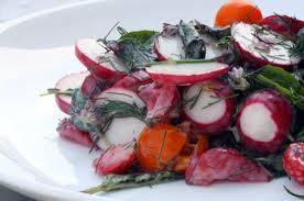 strawberry herb salad