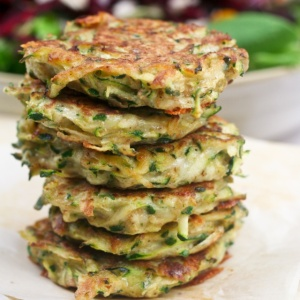 zucchini frittters