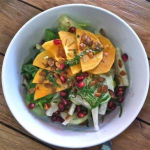 persimmon-jicama-salad